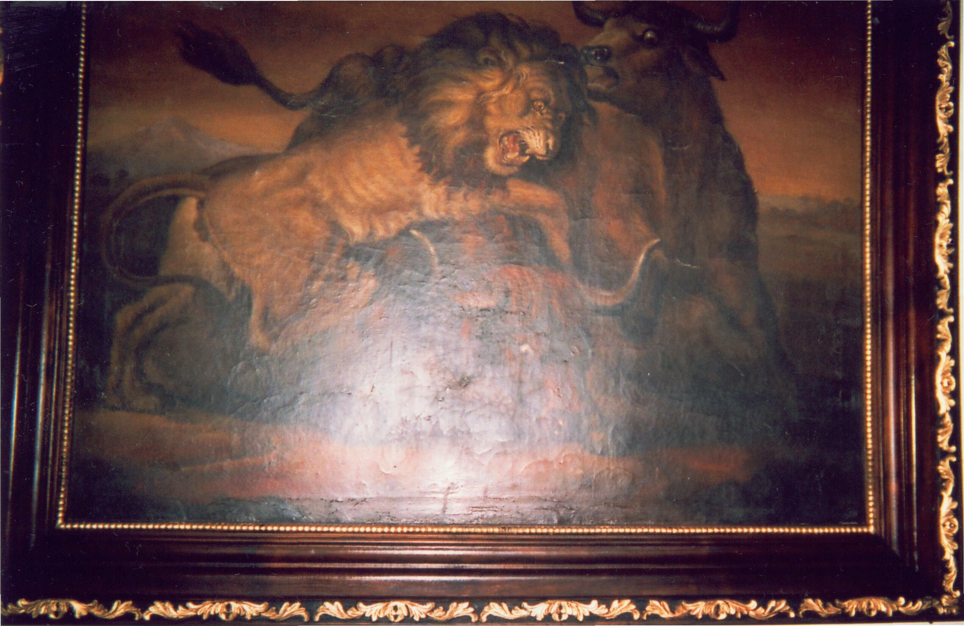 Lukisan Raden Saleh (Tahun 1861)